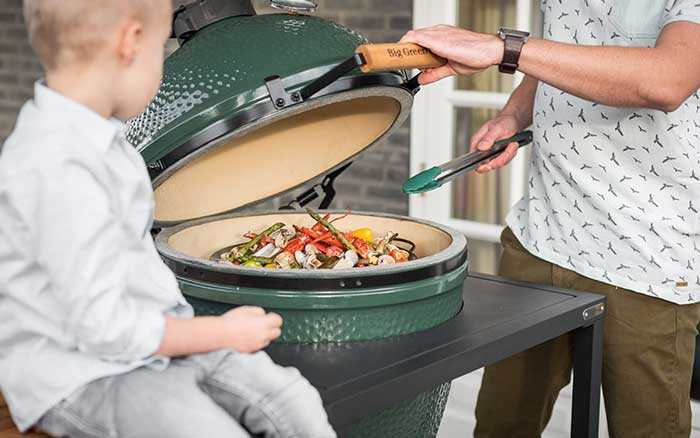 Barbecue céramique Big Green Egg XLarge - Egg Frame pack