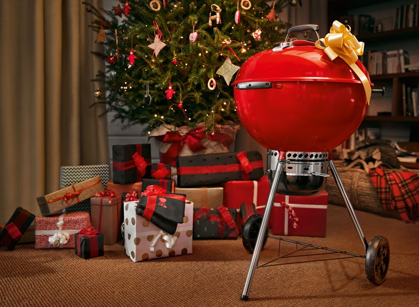 Barbecue Weber Master Touch Edition limitée Noël 2018