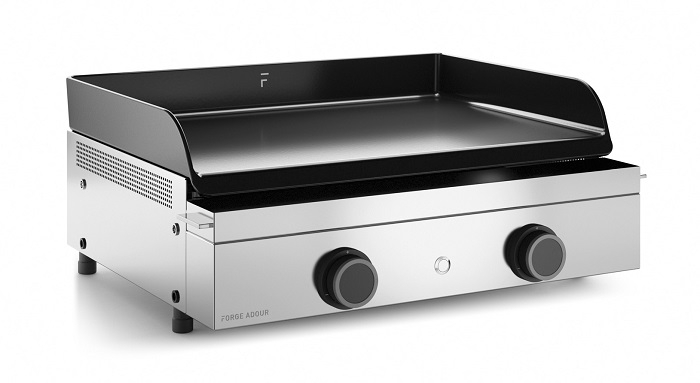 Photo d'une Plancha Forge Adour ORIGIN 60 Inox au gaz