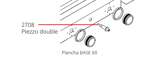 Piezzo plancha Base