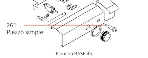 Piezzo plancha Base 45