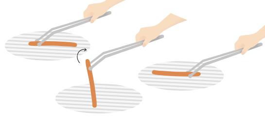 roulettes des pinces grillup