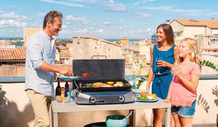 Plancha master EX de Campingaz vendu chez Raviday Barbecue