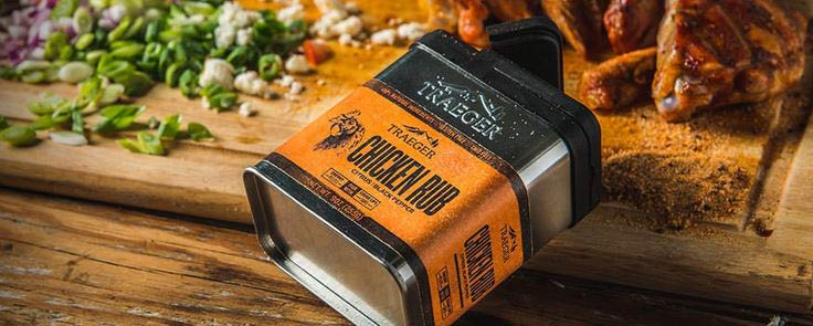 Épices TRAEGER Poulet Porc Chicken Rubs 250 g