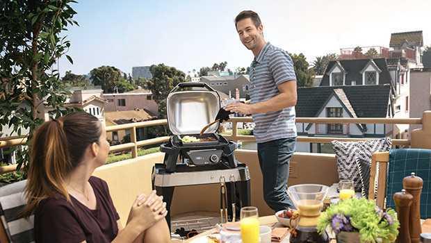 Barbecue électrique pour balcon Weber Pulse