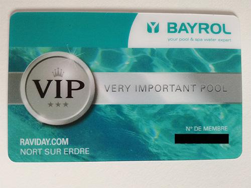 Raviday Piscine partenaire de l'offre VIP Bayrol