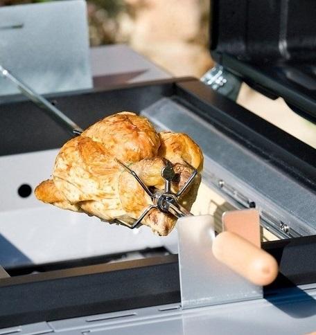 rôtissoire campingaz accessoires pour barbecue à gaz