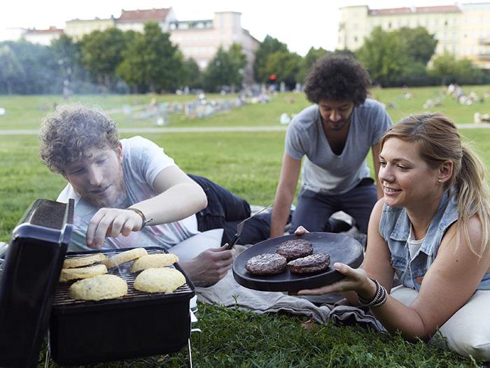 barbecues à charbon portable pour camping et pique nique
