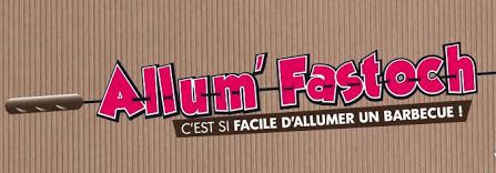 Logo Allum Fastoche, allumer facilement un barbecue