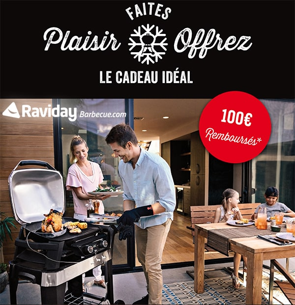 Promotion Barbecue WEBER PULSE
