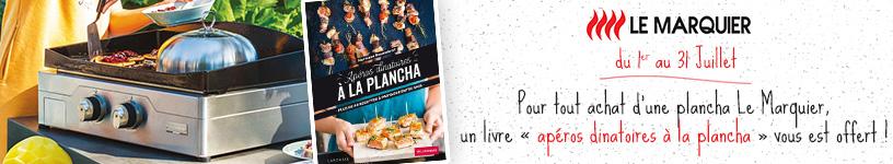 Livre offert sur Plancha Le Marquier