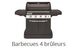 Barbecue gaz 4 brûleurs