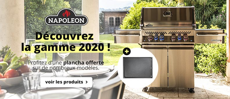 Gamme barbecues Napoleon 2020