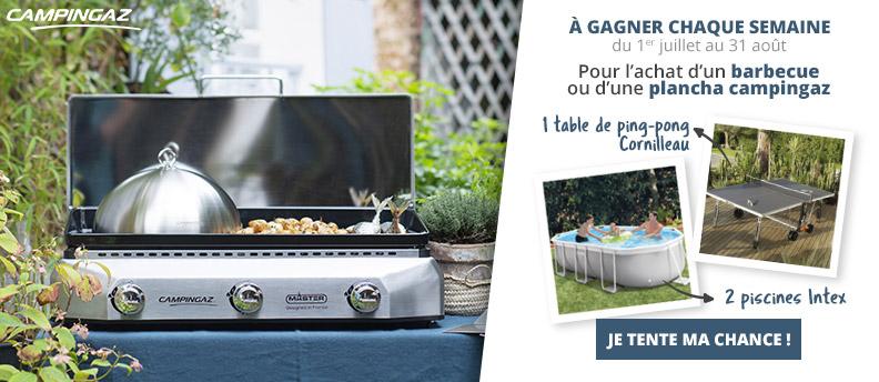 Promo de l'été sur les barbecues et planchas Campingaz