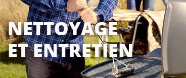 Accessoires pour l'entretien du barbecue