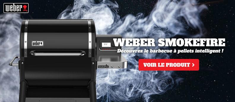 Arrivée des Weber Smokefire chez Raviday