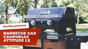Vidéo Barbecue Campingaz Attitude