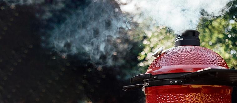 Découvrez les barbecues en céramique Kamado Joe